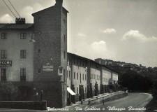 Piazza dei Portici - cartolina Archivio Pro Loco