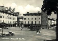 Piazza della Repubblica, anno 1961 - cartolina Archivio Pro Loco