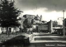 Panorama da Via Casilina, anno 1961  - cartolina Archivio Pro Loco