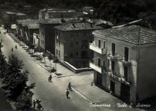 Via Sant'Antonio, anno 1958  - cartolina Archivio Pro Loco