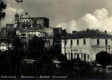 Panorama e Stazione Ferroviaria  - cartolina Archivio Pro Loco