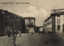 Piazza dello Statuto (attuale Piazza della Costituente)  - cartolina Archivio Pro Loco