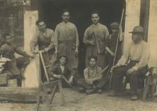 Falegnameria Mattei anno 1924 - foto gentilmente concessa da Piacentini Alberigo