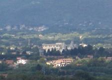 Valmontone, vista da Artena - Foto archivio Pro Loco