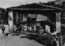 Lavatoio pubblico di Via Palestrina anno 1924  - foto gentilmente concessa da Fusani Marcello