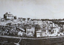 Valmontone dopo i bombardamenti - foto gentilmente concessa da Cocchia Ugo