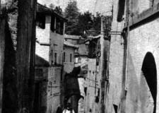 Via Porta Romana anno 1924 - foto gentilmente concessa da Fusani Marcello